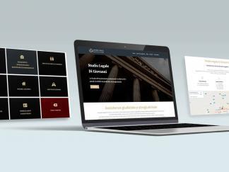 mockup sito web studio legale di giovanni